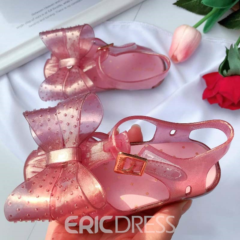 Ericdress PVC Polka Dot Baby Shoes