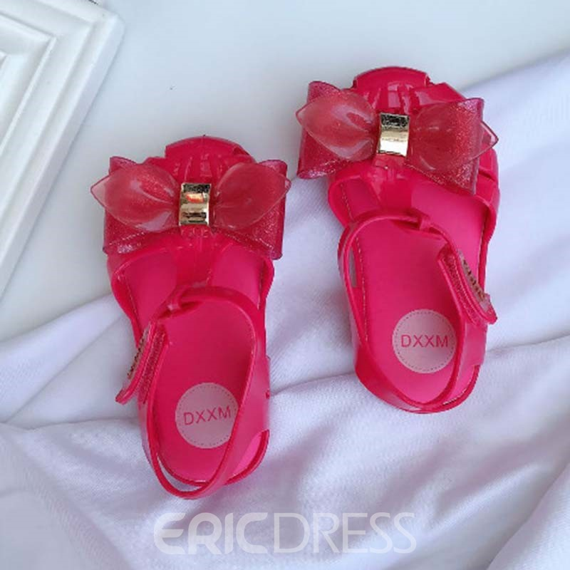 Ericdress PVC Bowknot Baby Shoes