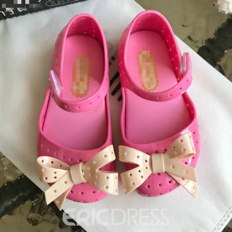 Ericdress PVC Color Block Baby Shoes