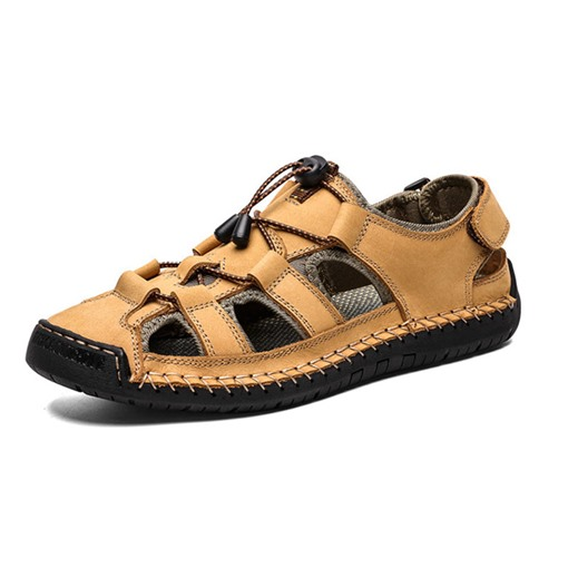 Ericdress Velcro Simple Hollow Men's Sandals