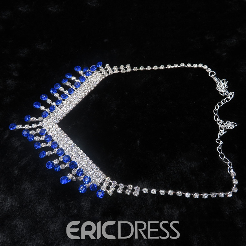Earrings Necklace European Floral Jewelry Sets (Wedding)