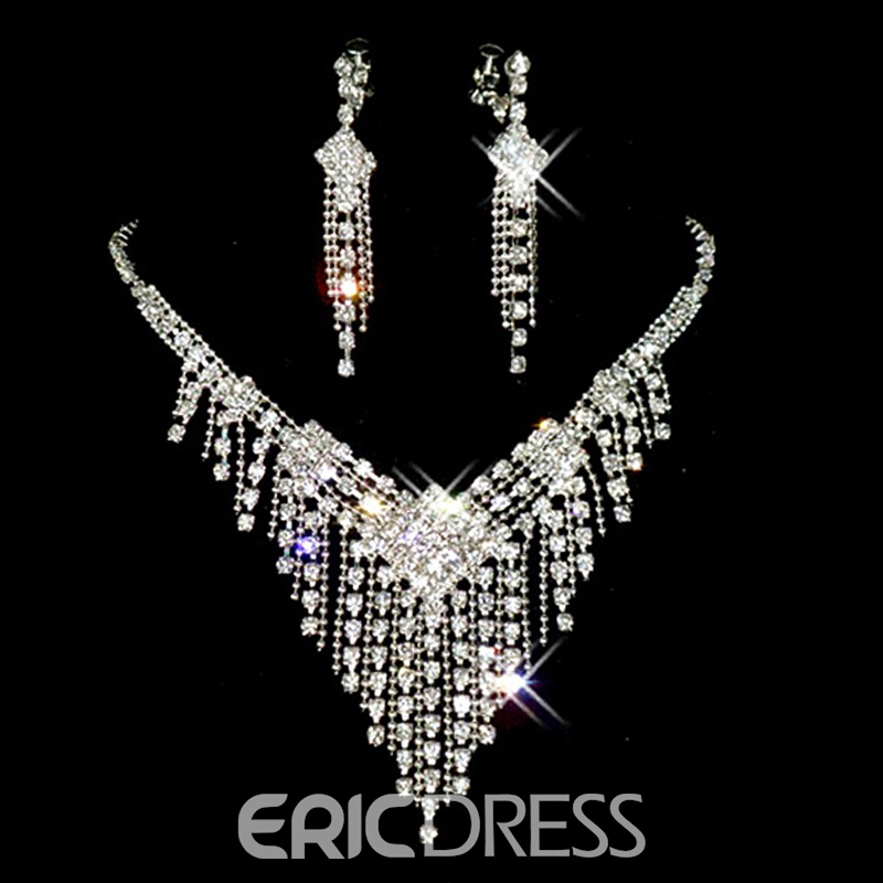 Tassel Earrings Korean Star Jewelry Sets (Wedding)