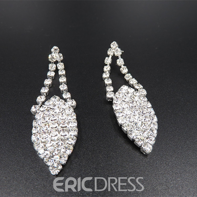 Necklace Diamante Korean Jewelry Sets (Wedding)