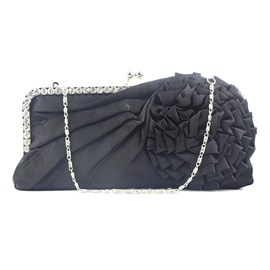 Ericdress Flower Drape Banquet Clutches & Evening Bag