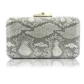 Ericdress Banquet Satin Snakeskin Grain Clutches & Evening Bag