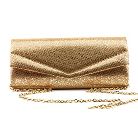 Ericdress Golden Envelope Rectangle Versatile Clutches & Evening Bag