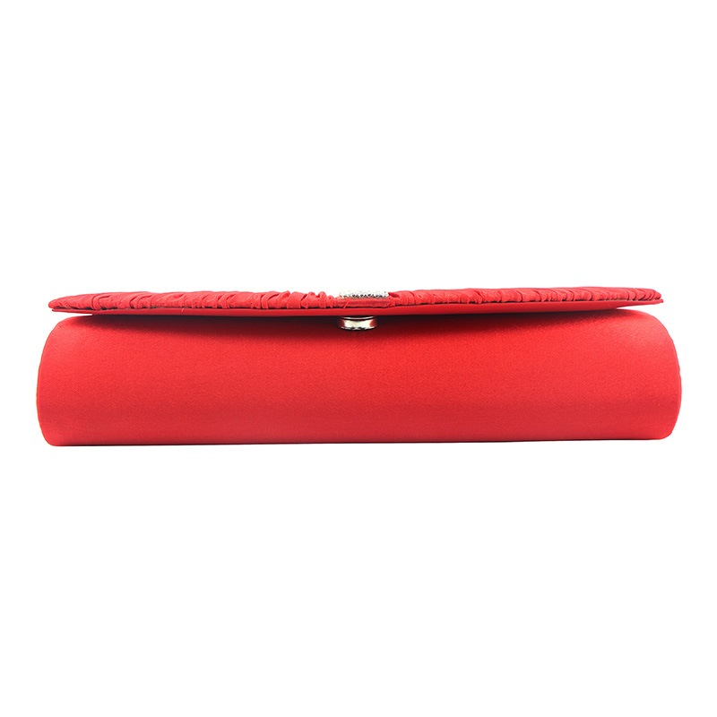 Ericdress Puckering Rectangle Rhinestone Versatile Clutches & Evening Bag