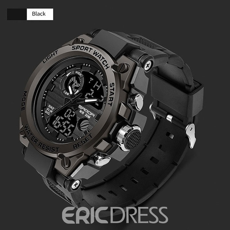 Ericdress Hardlex Luminous Sport Style Watch