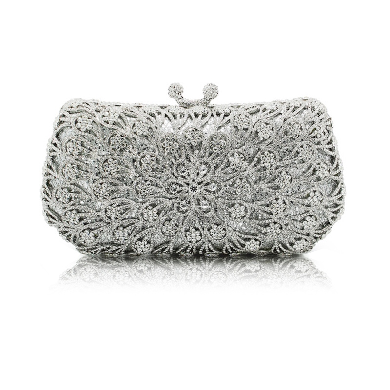 Ericdress Rhinestone Luxury Banquet Clutches & Evening Bag