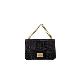 Ericdress PU Thread Alligator Classical Crossbody Bag