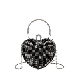 Ericdress Heart Shape Chain Plain Shoulder/Crossbody Bag