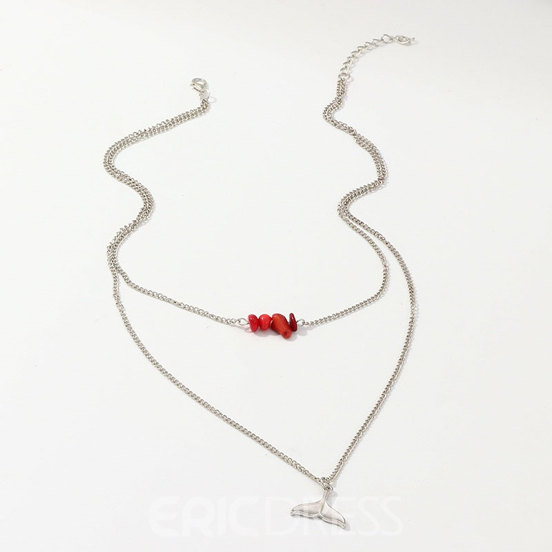 Ericdress Fishtail Female Necklaces