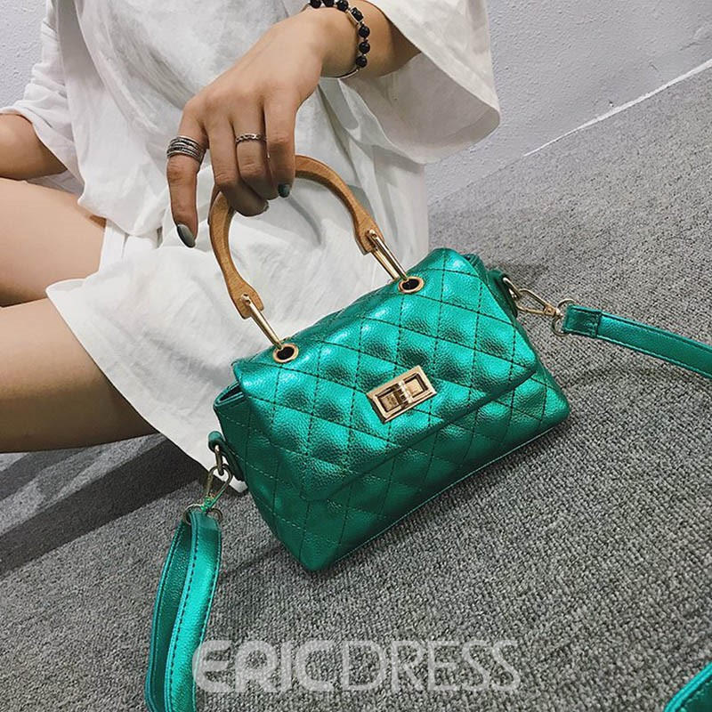 Ericdress Classical Plaid Thread Shoulder/Crossbody Bag