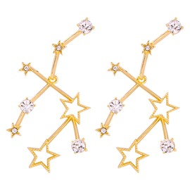 Ericdress Star Alloy Prom Earrings