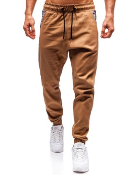 Ericdress Pleated Harem Gradient Lace-Up Mens Casual Pants
