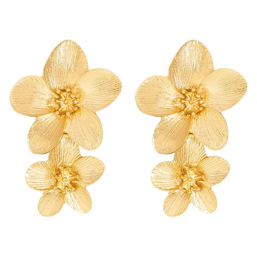 Ericdress Flower Alloy Colour Earrings