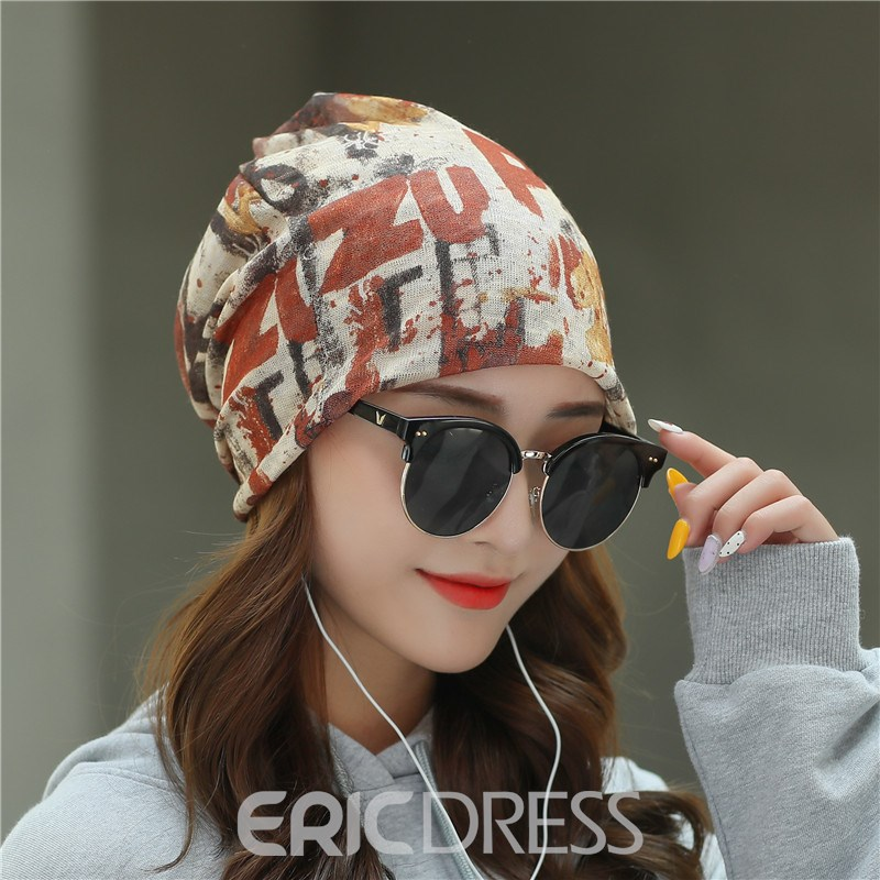 Ericdress Skullies & Beanies Casual Letter Winter Hat
