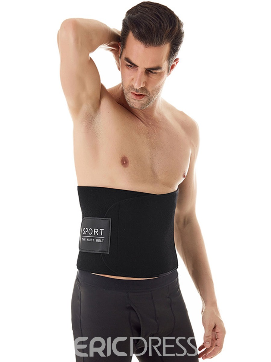 Ericdress Waist Cincher Spandex Men's Shapewear