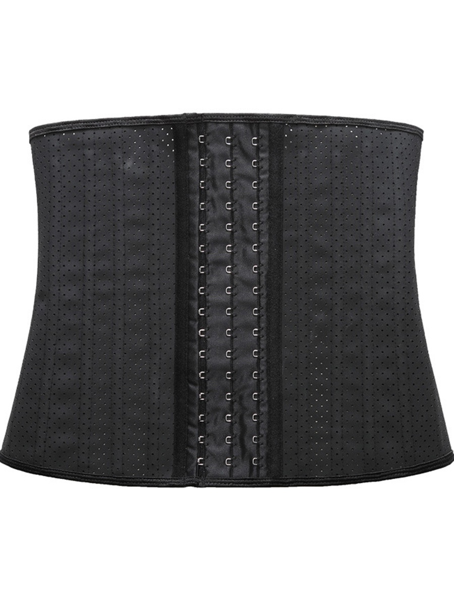 Ericdress Plain Hollow Waist Cincher Women's Corset