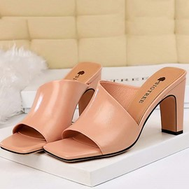 Ericdress PU Slip-On Women's Mules Shoes