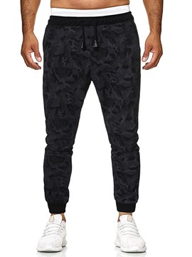 Ericdress Plain Thin Print Mens Casual Pants