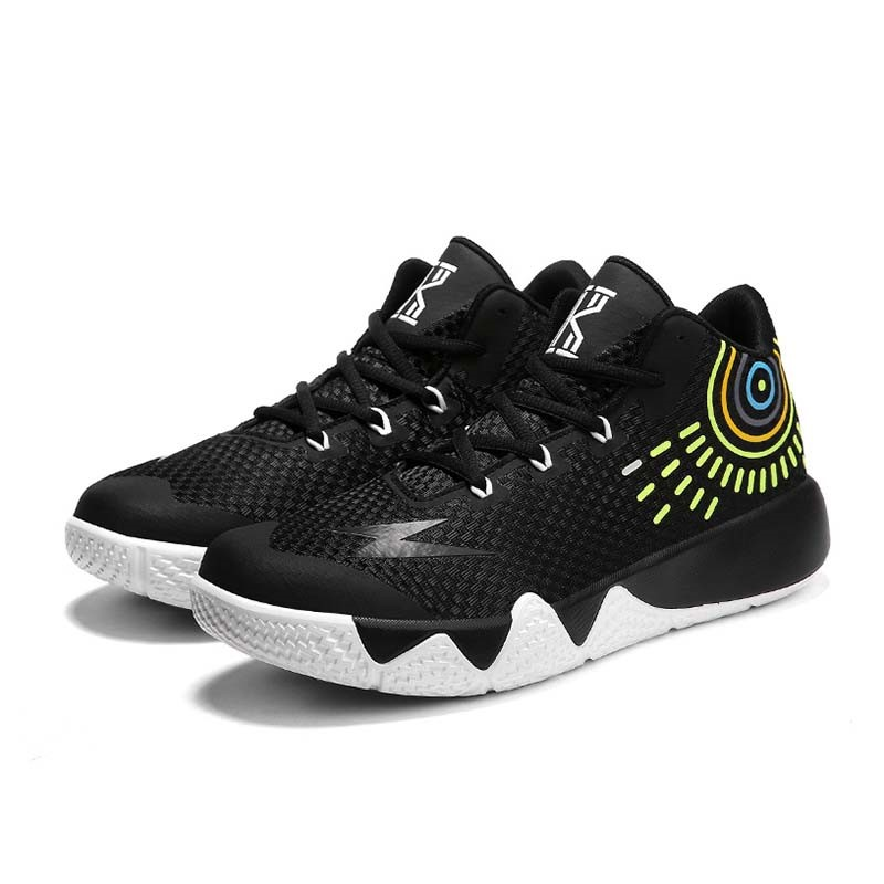 Ericdress Color Block Round Toe Lace-Up Men's Mesh Sneakers