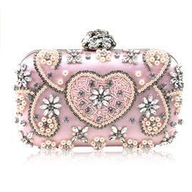 Ericdress Luxurious Handtailor Rhinestone Decoration Clutch