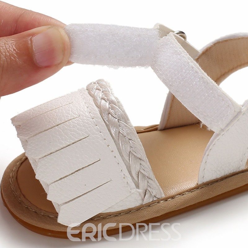 Ericdress Color Block Knitted Baby Shoes