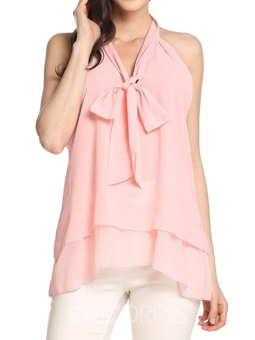 Ericdress Asymmetric Summer Mid-Length Fashion Tank Top