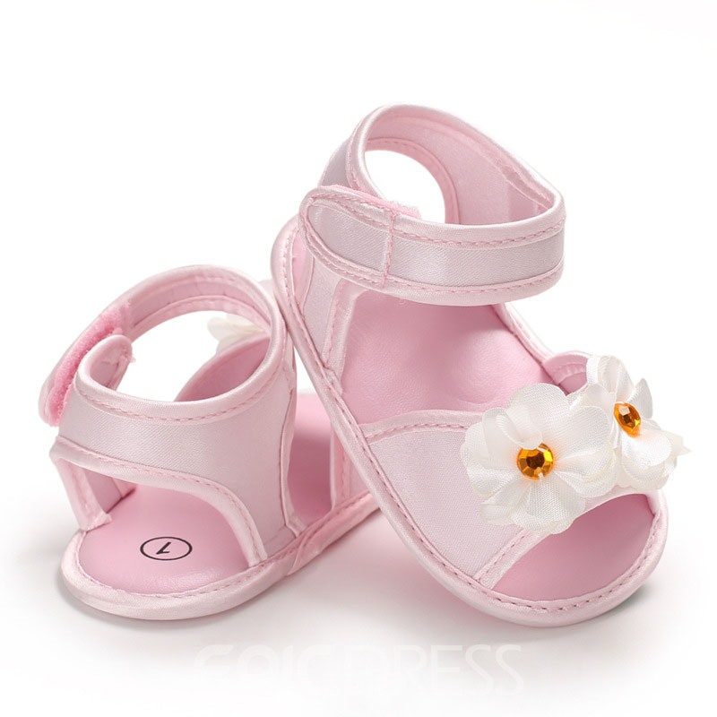 Ericdress 3D Floral Velcro Baby Shoes