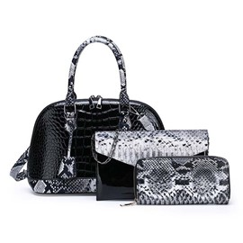 Ericdress PU Alligator Thread Shell Handbag