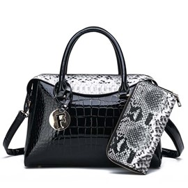 Ericdress Alligator Thread PU Pillow Handbag