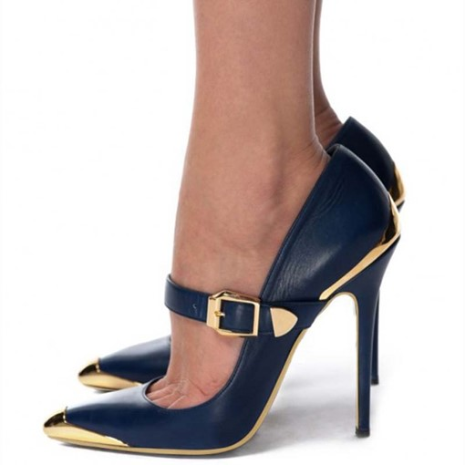 Ericdress PU Pointed Toe Stiletto Heel Women's Prom Shoes