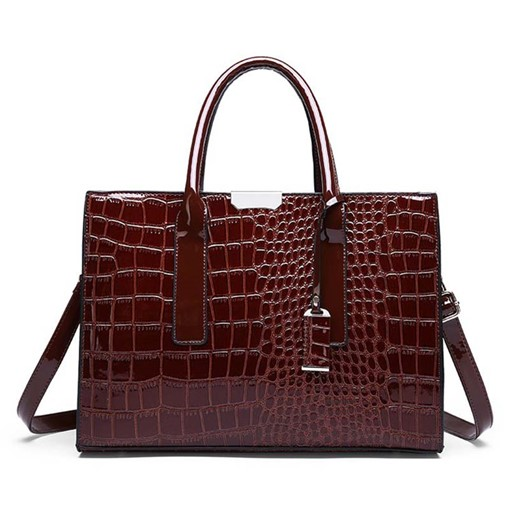 Ericdress Alligator Fashion PU Simple Handbag