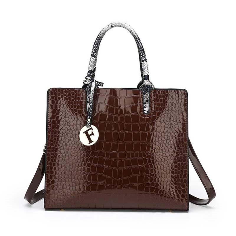 Ericdress Embossing Alligator PU Square Handbag