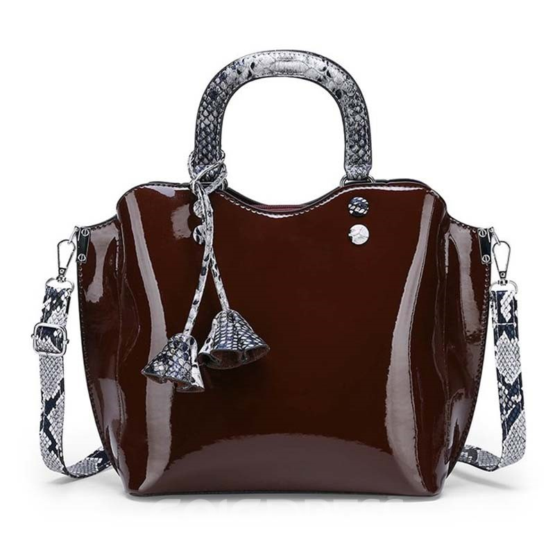Ericdress Snake Grain Pattern Thread Serpentine Handbag