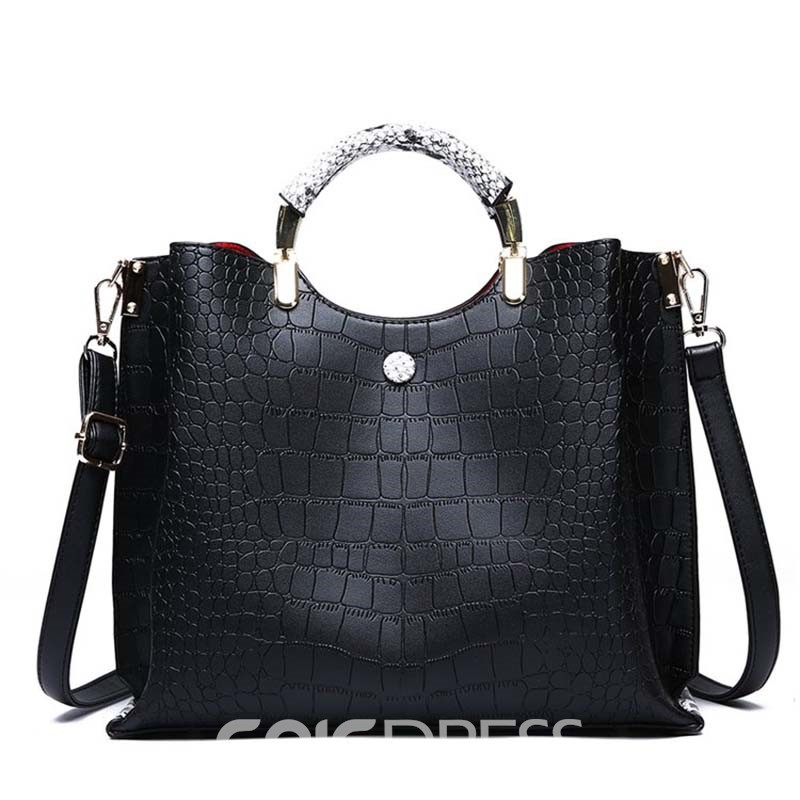 Ericdress Embossing Alligator Fashion handbag