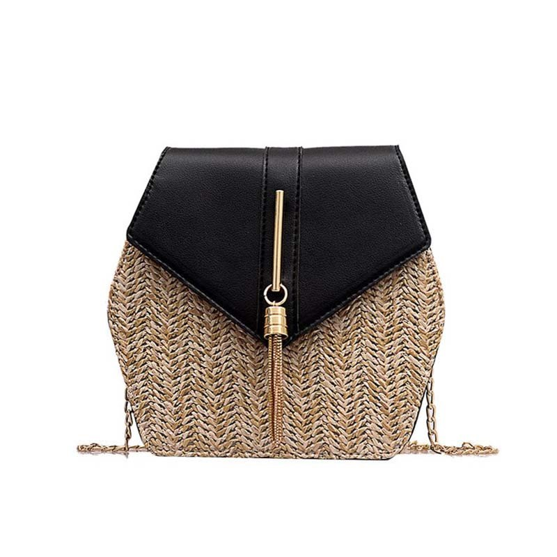 Ericdress Knitted Grass Fashion Crossbody Bag