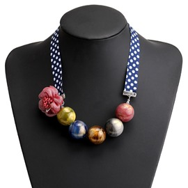 collares de color vintage ericdress collares femeninos