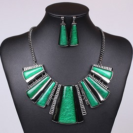 Ericdress Geometric Vintage Holiday Jewelry Set