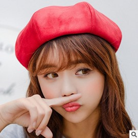 Ericdress Beret Sweet Spring Plain Hat