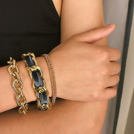 Ericdress Alloy Chain Multilayer Bracelets