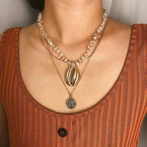 Ericdress Pendant Conch Necklace