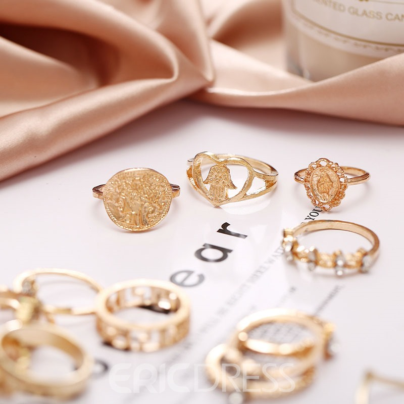 Ericdress Romantic Alloy Prom Ring