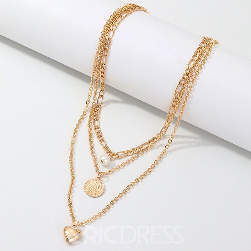 Ericdress Alloy Pendant Romantic Necklaces