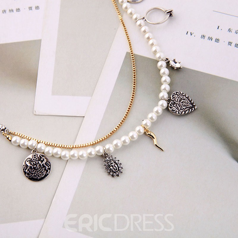 Ericdress Pearl Pendant Necklace