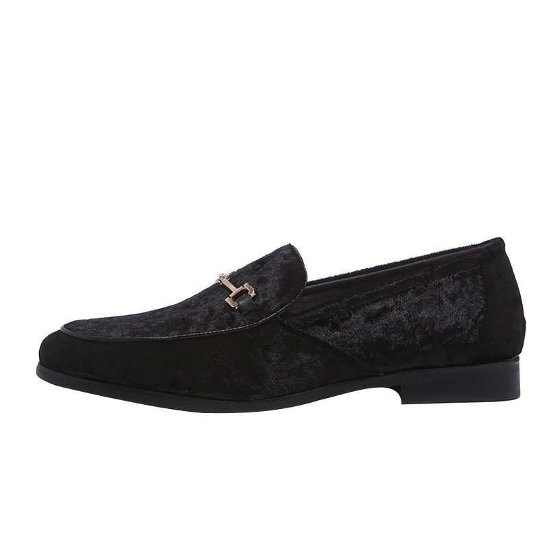 Ericdress Faux Suede Plain Round Toe Slip-On Men's Casual Shoes