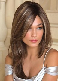 Ericdress Women's Natural Straight Ombre Color Synthetic Hair Capless Wigs 24Inches