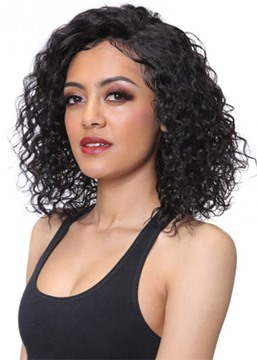 Ericdress Sexy Women's Medium Capless Hairstyles Kinky Curly Synthetic Hair Wigs 16Inches