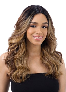 Ericdress Fashion Women's Sexy Body Wave Synthetic Hair Wigs Rose Capless Wigs 24Inch